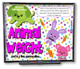 Animal Weight Conversions SMART BOARD PROMETHEAN Game