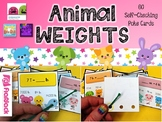 Animal Weights Conversions Poke Game for Pounds, Ounces, and Tons