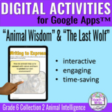 Animal Wisdom The Last Wolf Digital Activities Collections