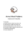 Animal Word Problems