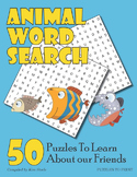 Animals Word Search Puzzle Pack
