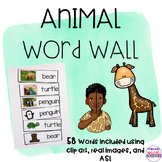Animal Word Wall