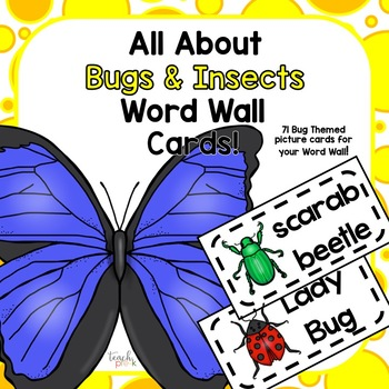 Animal Word Wall Cards-9 Sets! Over 300 Cards!