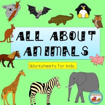 Animal Worksheets for Kids Next Generation Science Standards