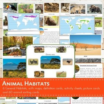 Animal World Habitats Learning Pack