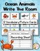 Animals Vocabulary and Writing Bundle