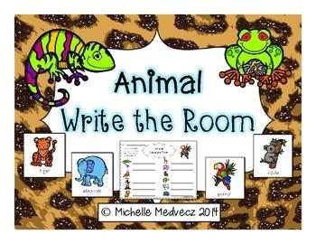 Animal Write the Room
