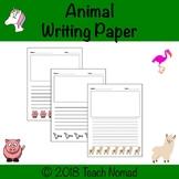Animal Writing Paper Bundle
