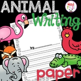 Animal Writing Paper - Zoo, Forest, Farm, Ocean, Birds, Bugs