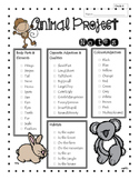 Animal Writing Project