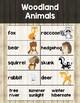 Animal Writing Word List