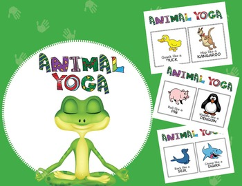 Animal Yoga - Great for ESL and elementary students!