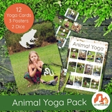 Animal Yoga Cards with REAL children!