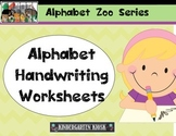 Alphabet Zoo Worksheets: Upper/Lowercase Alphabet
