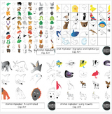 Animal Zoo: Clip Art Bundle