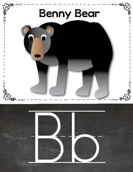 Alphabet Zoo Sound Cards: Letter Sound Anchor/Flash/Wall Cards