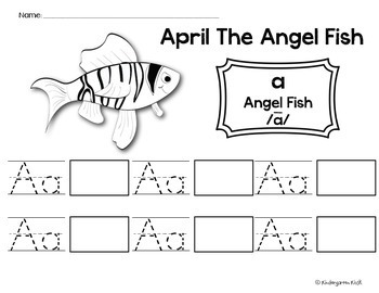 Alphabet Zoo Worksheets: Long Vowel/R-Controlled