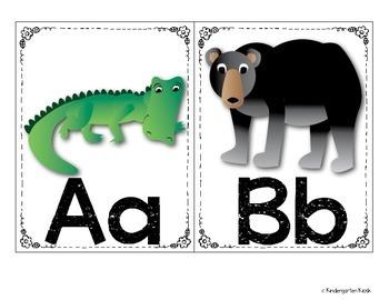 Alphabet Zoo Word Wall Kit