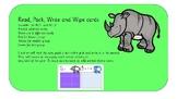 Animal addition cards.