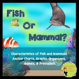 Animal and Fish Characteristics