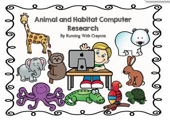 Animal and Habitat Computer Research Freebie