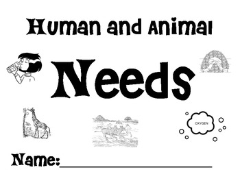 Animal and Human Needs Individual book