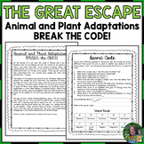 Animal and Plant Adaptations Break the Code (Escape Room)