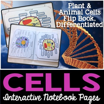Cells Interactive Notebook Pages