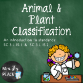 Animal and Plant Classification