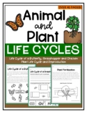 Animal and Plant Life Cycles-Includes Metamorphosis and Pl