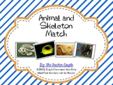 Animal and Skeleton Matching Cards