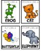 Animal brain break movement cards