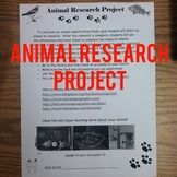 Animal cResearch Project Packe