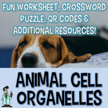 Animal cell organelles worksheet crossword addtl resources Jr. High TEKS 7.12D