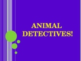 Animal detectives - riddle interactive game!