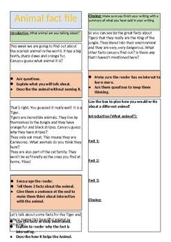Animal fact sheet