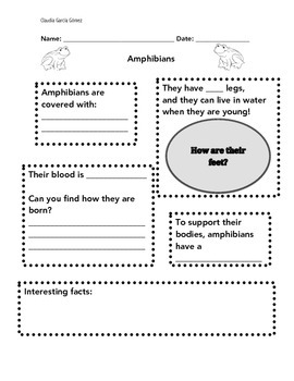 Animal groups record sheets