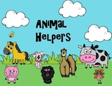 Animal helper interactive powerpoint - Reading street big blue ox