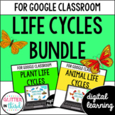 Google Classroom Distance Learning Animal life cycles & pl