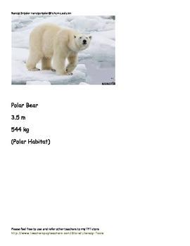Animal measuring activity