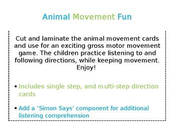 Animal movement fun