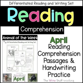 Animal of the Week April