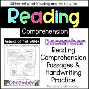 Animal of the Week December