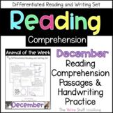Reading Comprehension Animal of the Week December