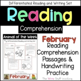 Reading Comprehension Animal of the Week February