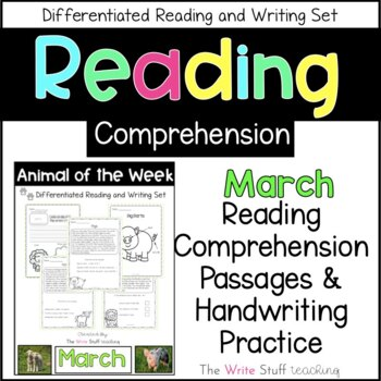Animal of the Week March