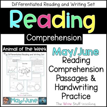 Animal of the Week May-June