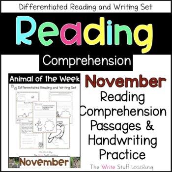 Animal of the Week November