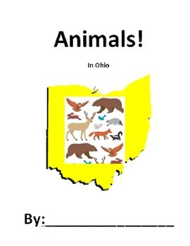 Animal research packet - Ohio, writing, open ended, integr