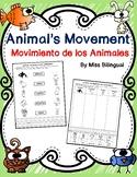 Animal's Movement / Movimiento de los animales - Dual Lang